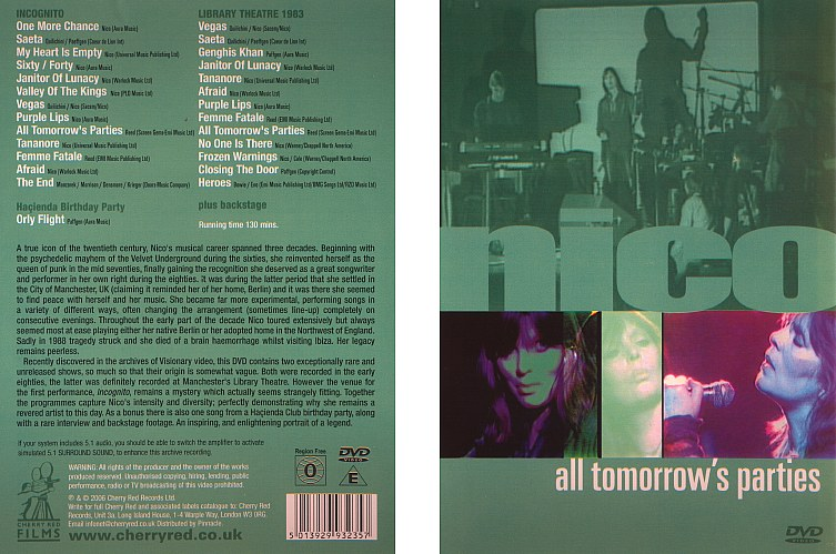 All Tomorrow's Parties UK DVD