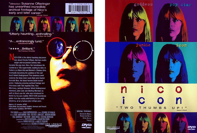 Nico-Icon US DVD